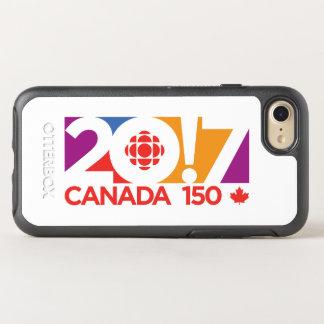 CBC/Radio-Canada Logo 2017 OtterBox Symmetry iPhone 8/7 Hülle