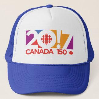 CBC/Radio-Canada Logo 2017 Truckerkappe