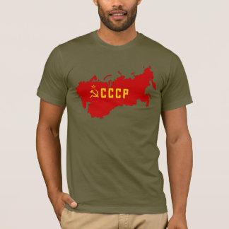 CCCP die Sowjetunion Karte T-Shirt