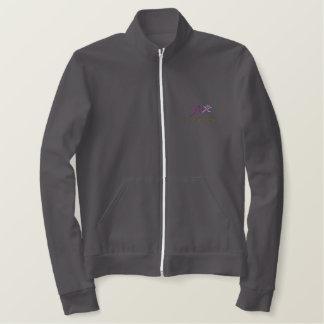 CCS stickte Fleece-Ziprüttler-Jacke