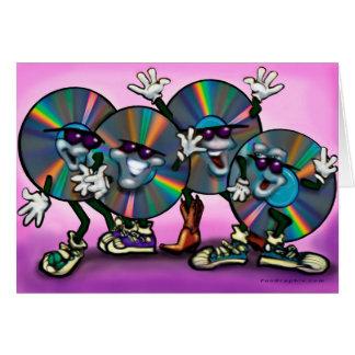 CD Gruppe Grußkarte