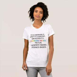 CDC verbotene Wörter T-Shirt