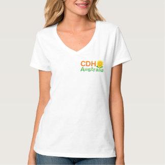 CDH Australien Damen V-Hals T-Stück T-Shirt