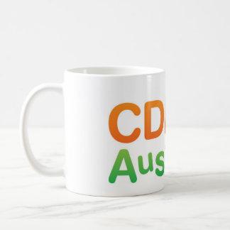 CDH Australien klassische weiße Tasse