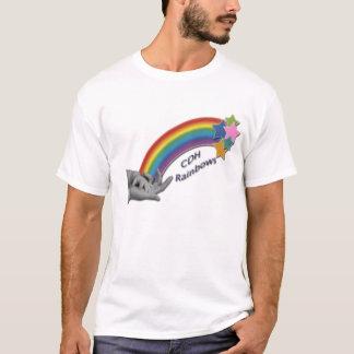 CDH Regenbogen-Damen zerstörten T - Shirt
