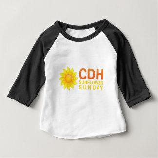 CDH Sonnenblume Sonntag Baby T-shirt