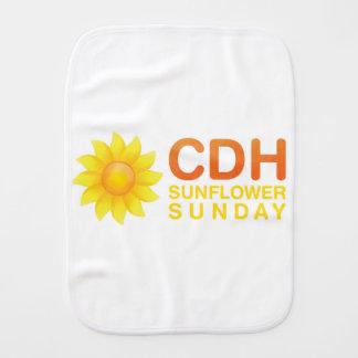 CDH Sonnenblume Sonntag Spucktuch