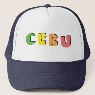 Cebu Philippinen. Ebene u. einfaches Truckerkappe
