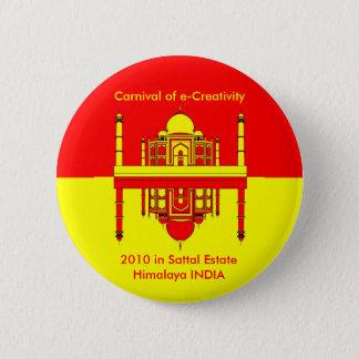 CeC Himalaja 2010 INDIEN Runder Button 5,7 Cm