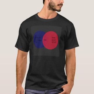 Cecilia: Das venn Diagramm T-Shirt
