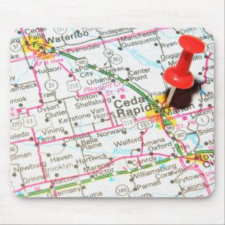 Cedar Rapids, Iowa Mousepad
