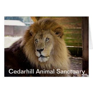 Cedarhill Tierschongebiet-Karte Karte