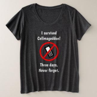 Cellmageddon plus Größen-Shirt Große Größe T-Shirt