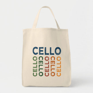 Cello bunt tragetasche