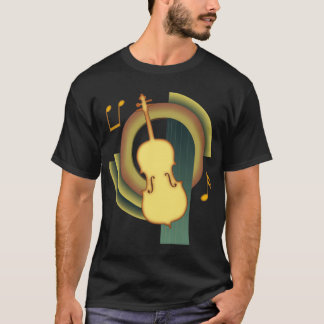 Cello-Deko T-Shirt