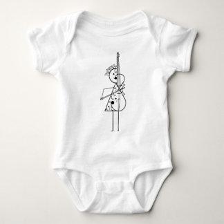 Cello-Mädchen Baby Strampler