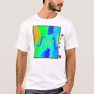 Cello-Schnur-T - Shirt der musikalischen