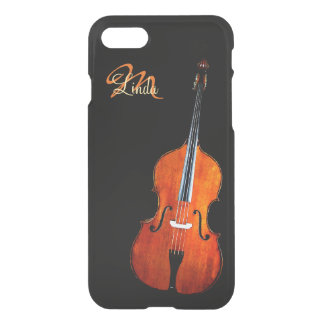 Cello-Spieler-Monogramm iPhone 7 Fall iPhone 7 Hülle