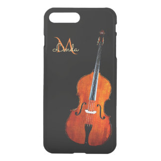 Cello-Spieler-Monogramm iPhone 7 Plusfall iPhone 8 Plus/7 Plus Hülle