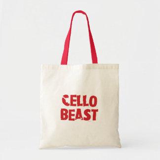 Cello-Tier-Tasche Tragetasche