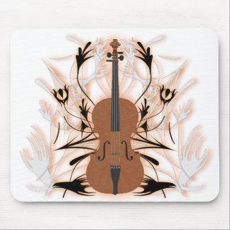 Cello u. Stammes- Grafik: Kundenspezifisches Mousepad