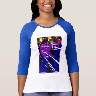 Cellobrücke mit Fibonacci-Spirale T-Shirt