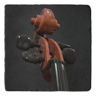 Cellohals Töpfeuntersetzer