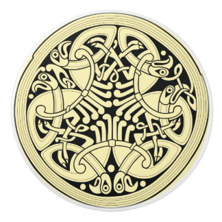 Celtic Circle~ IRGENDEIN Keramikknauf