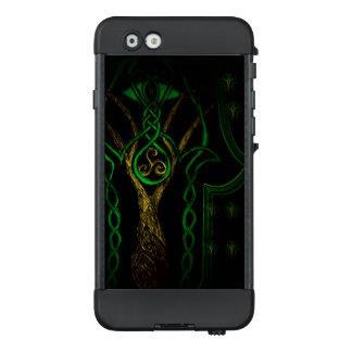 Celtic Hamsa Hand (Grün) LifeProof NÜÜD iPhone 6 Hülle