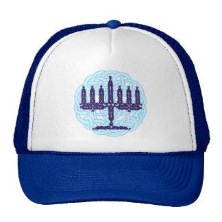Celtic Menorah Hüte Mütze