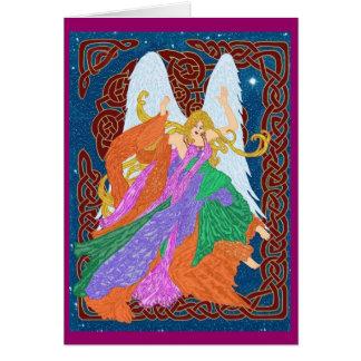 Celtic Nouveau Engel Karte
