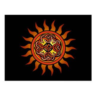 Celtic Sun 4 Postkarte