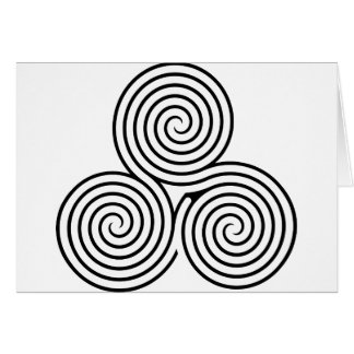Celtic Triquetra Knoten II Karte