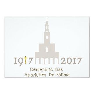 Centenário DAS Aparições de Fátima - Portugal Karte