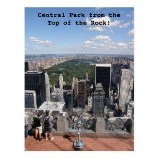 Central Park-Ansicht Postkarte