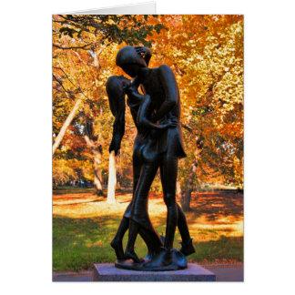 Central Park-Herbst: Romeo- u. Julietstatue 02 Karte