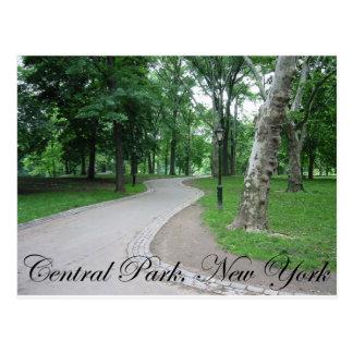 Central Park, New York Postkarte