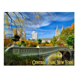 Central Park New York Postkarte