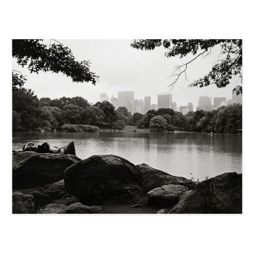 Central Park-Postkarte