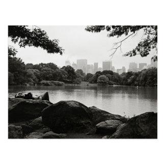 Central Park-Postkarte Postkarte