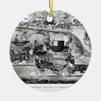 Central Park Rundes Keramik Ornament