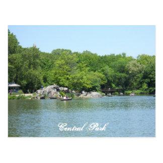 Central Park See-Postkarten-Andenken New York City Postkarte