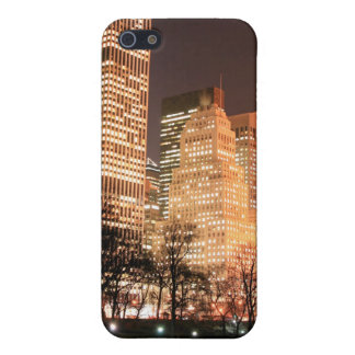 Central Park und Manhattan-Skyline, New York City iPhone 5 Etui