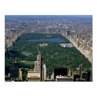 Central Park vom Süden, New York City, USA Postkarte
