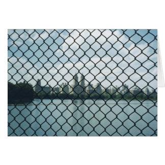 Central Park-Zaun Karte