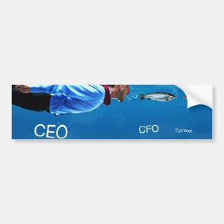 CEO CFO C ya neuerer Büro Humor-Autoaufkleber Autoaufkleber