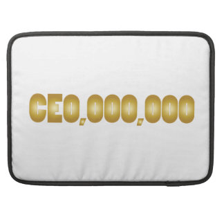 CEO-Spaßkleidung MacBook Pro Sleeve