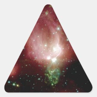 Cepheus Valentinstag spielt die NASA die Dreieckiger Aufkleber