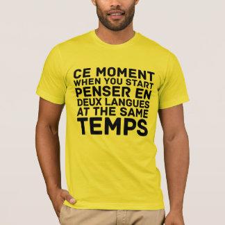 Cer-Moment, als Sie beginnen T-Shirt