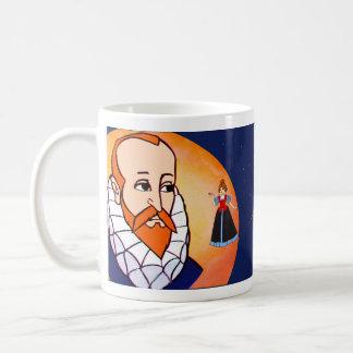 Cervantes-Stern-Weiß 11-Unze-klassische weiße Tasse